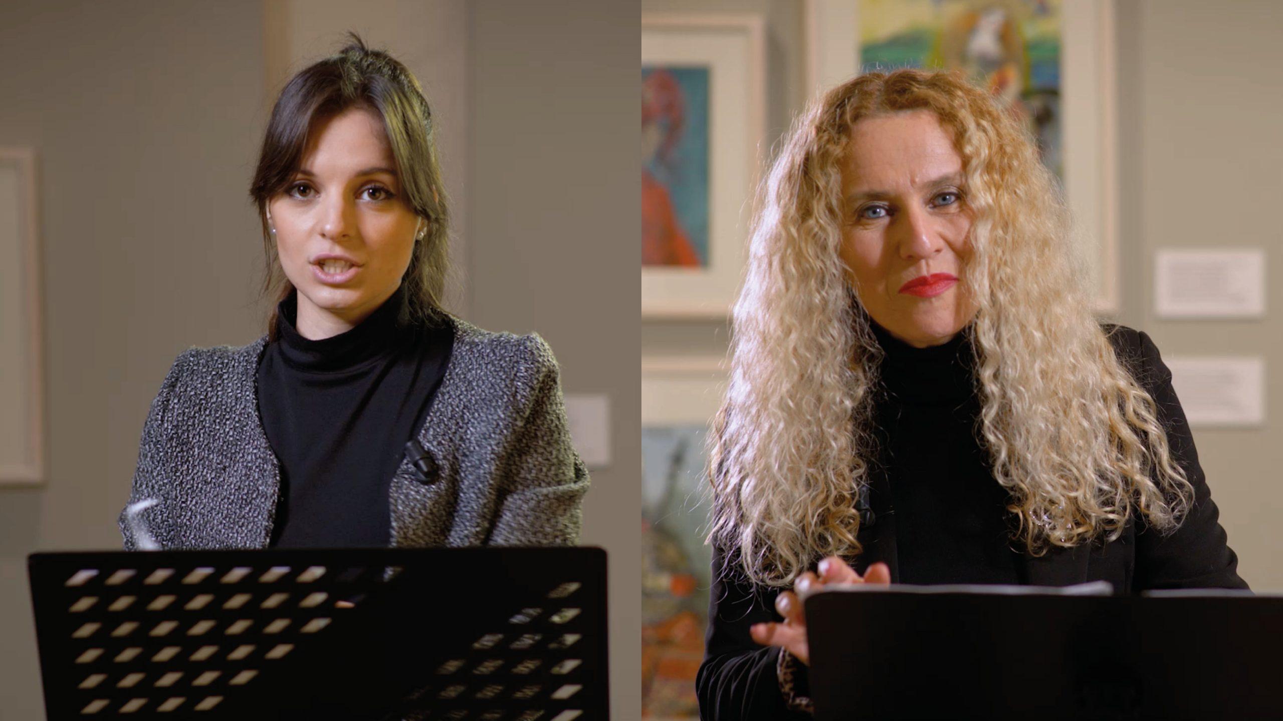 Nicole Frontera e Maria Antonietta Centoducati leggono l'Orlando Innamorato – Libro II, canto VIII, ottave 1-63
