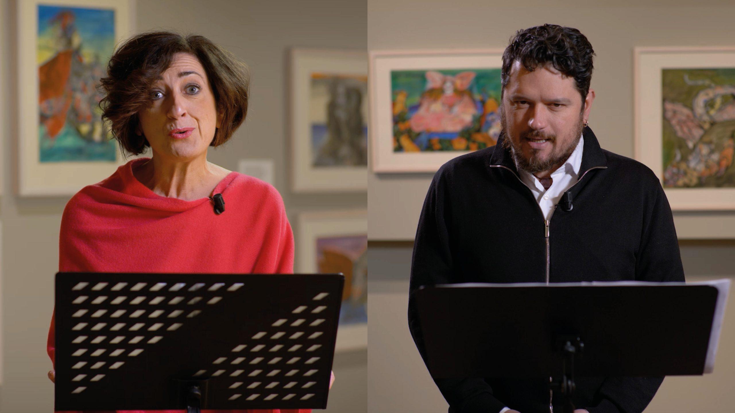 Fabiola Ganassi e Marco Maccieri leggono l'Orlando Innamorato – Libro II, canto IV, ottave 1-86